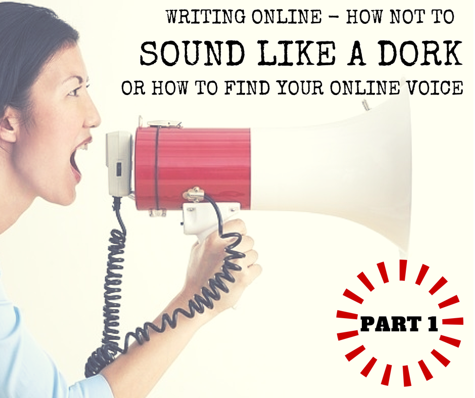 Write to Right - Finding your online voice part 1