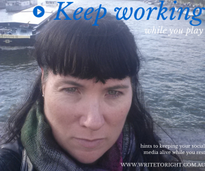 Keep working while you play Write to Right