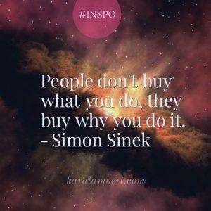 Simon Sinek people buy why