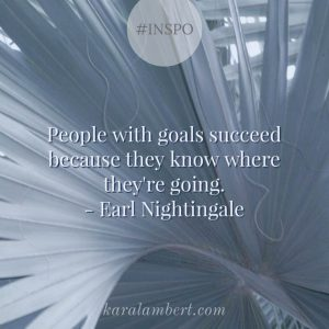 financial goals and success Kara Lambert Business Coach
