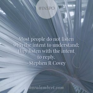 listen quote stephen covey