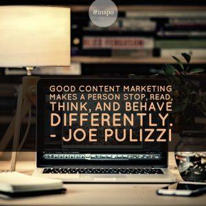 Content Marketing is not a campaign - Kara Lambert Business coach