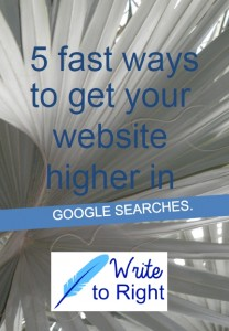 Increase your Google ranking