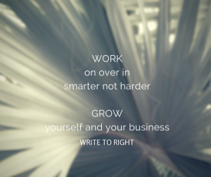 work smarter with Write to Right