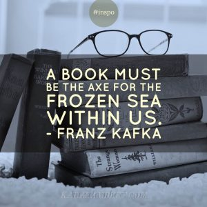 business book list Franz Kafka quote Kara Lambert business coach