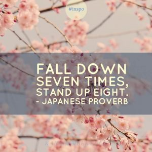 fall down seven times quote japanese proverb kara lambert business coach