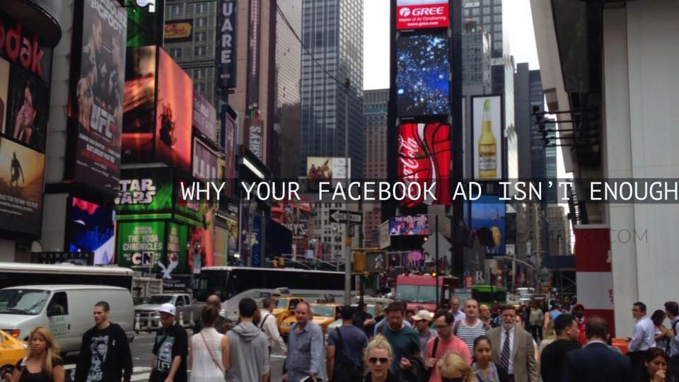 Why just running Facebook Ads or Boosted posts isn't enough