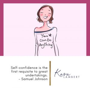 tips to build self confidence for small business Samuel Johnson quote