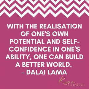 self-assurance quote by the Dalai Lama