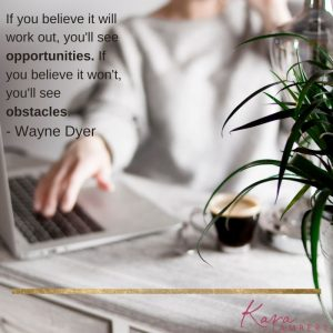 Believe you will succeed quote Wayne Dyer
