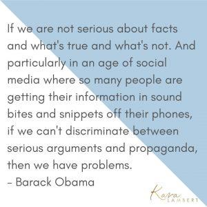Propaganda on social media