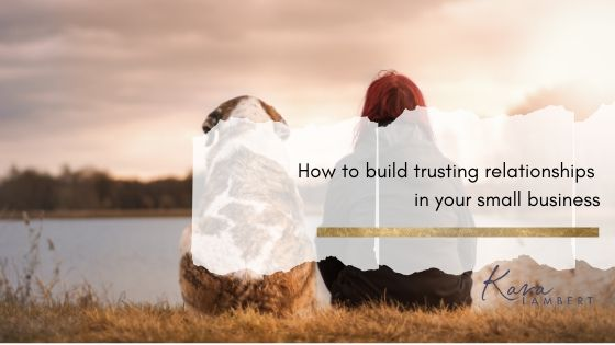 how to build trust in business partnerships