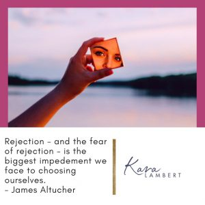 fear of rejection in small business