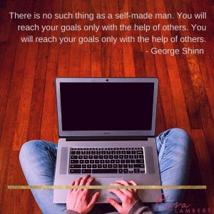 feel support small business owner George Shinn quote