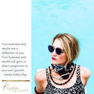 James Arthur Ray quote small business growth personal growth