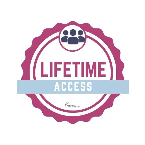 LIFETIME ORGANIC FACEBOOK COURSE ACCESS GUARANTEE