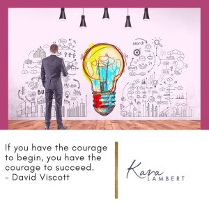 courage small business quote
