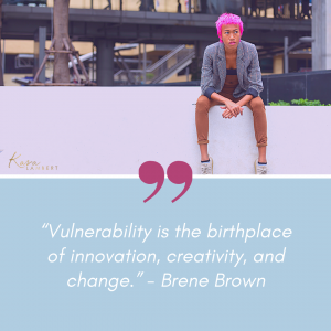 forward thinking quote brene brown