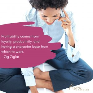 profitable business quote Zig Ziglar