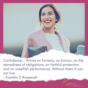 Building confidence quote Franklin D Roosevelt