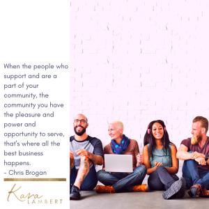 chris brogan community quote