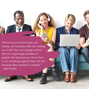 Seth Godin Community quote