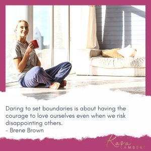 put in client boundaries quote Brene Brown