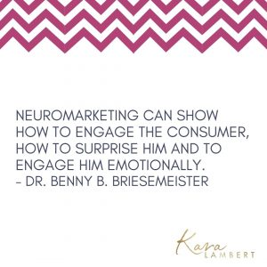 neuromarketing inside consumer mind quote by Dr Benny Briesemeister