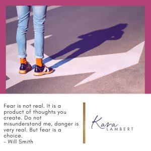 overcome a fear of success quote Will Smith