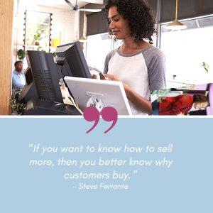 sales psychology quote steve ferrante