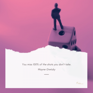 Fear of closing sales quote by Wayne Gretzky