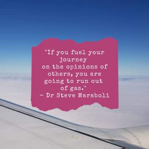 Opinion of others control your business Steve Maraboli Quote